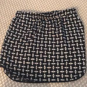 Brand new Trouve silk skirt